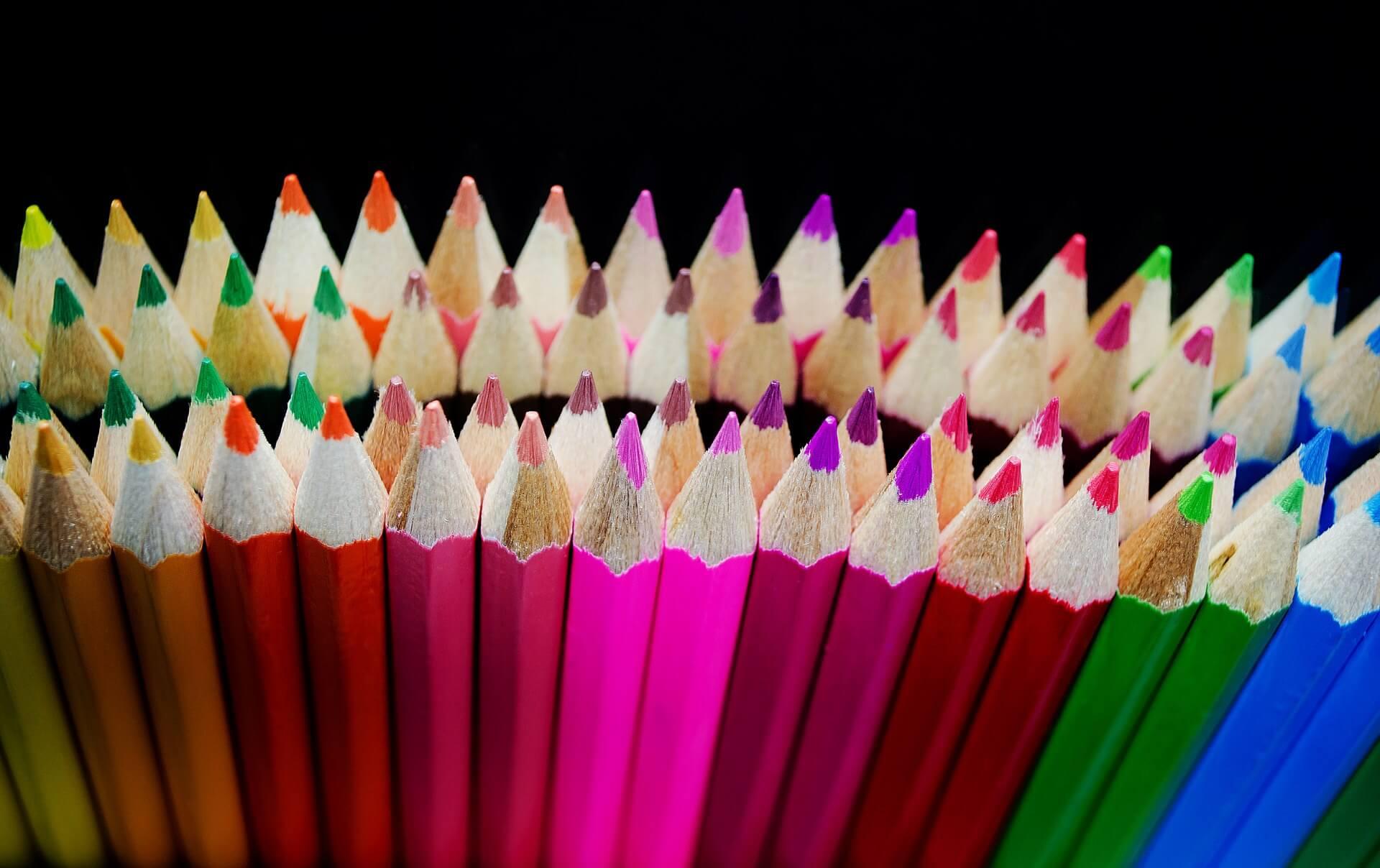 Buntstifte Farbvielfalt