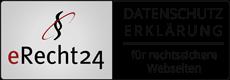 eRecht24 Logo Datenschutzerklärung